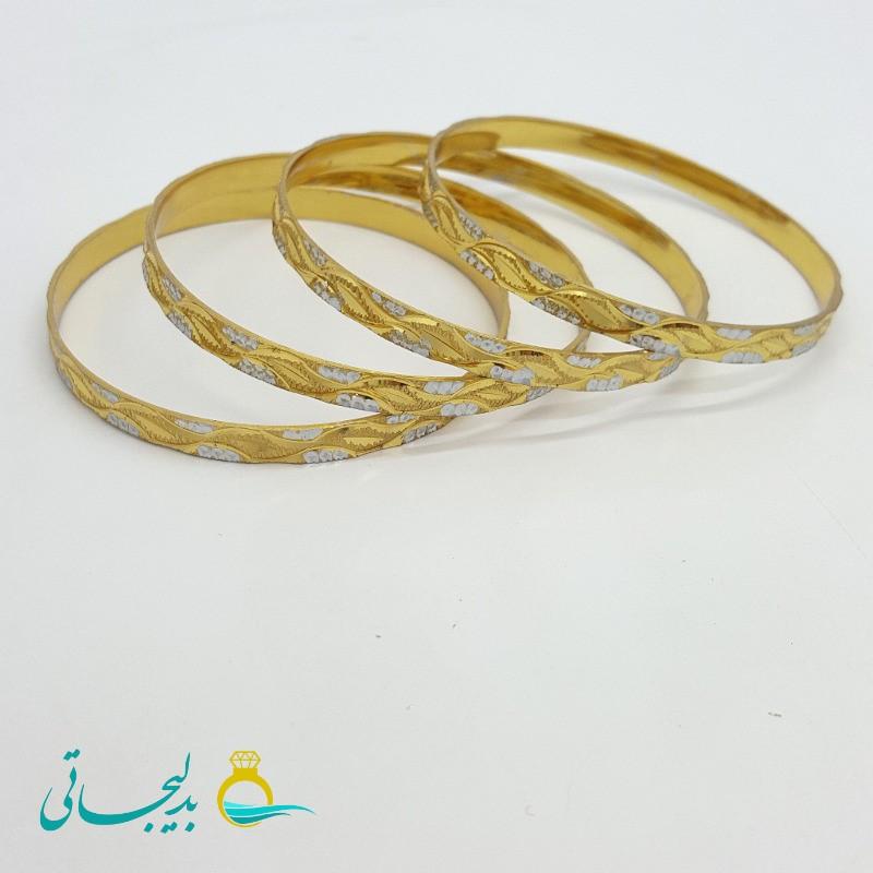 النگو طلایی دورنگ ۱۱۰۶
