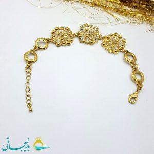 دستبند طلایی مدل brs-134