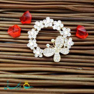 گل سینه _ طرح پروانه FLR-009
