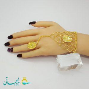 دستبند انگشتری - دستبند انگشتری زنانهBGR-56