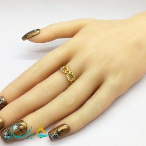 انگشتر زنانه - انگشتر زنانه طلایی 183
