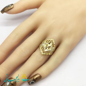 انگشتر زنانه - انگشتر زنانه طلایی 188