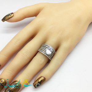 انگشتر زنانه - انگشتر زنانه طلایی 190