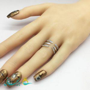 انگشتر زنانه - انگشتر زنانه طلایی 192