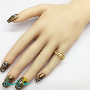 انگشتر زنانه - انگشتر زنانه طلایی 194