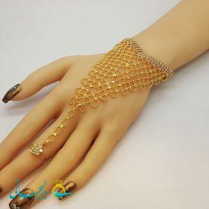 دستبند انگشتری - دستبند انگشتری هندی BGR-63