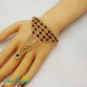 دستبند انگشتری - دستبند انگشتری هندی BGR-64