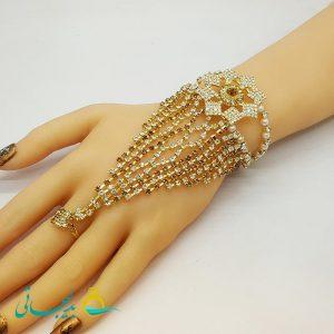 دستبند انگشتری - دستبند انگشتری هندی BGR-65