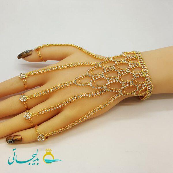 دستبند انگشتری - دستبند انگشتری هندی BGR-66