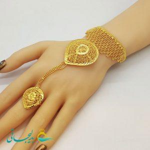 دستبند انگشتری - دستبند انگشتری هندی BGR-67
