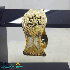 النگو طلایی- تک پوش - تک دست - کد ۱214