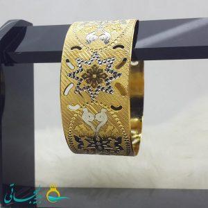 النگو طلایی- تک پوش - تک دست - کد ۱216