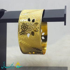 النگو طلایی- تک پوش - تک دست - کد ۱219