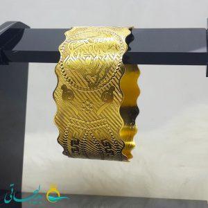 النگو طلایی- تک پوش - تک دست - کد ۱220