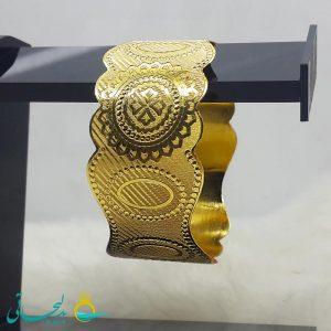 النگو طلایی- تک پوش - تک دست - کد ۱221