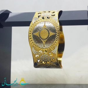 النگو طلایی- تک پوش - تک دست - کد ۱222