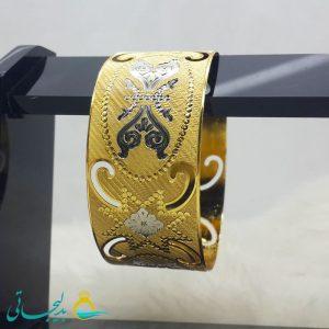 النگو طلایی- تک پوش - تک دست - کد ۱225