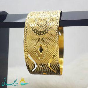 النگو طلایی- تک پوش - تک دست - کد ۱228