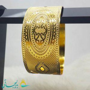 النگو طلایی- تک پوش - تک دست - کد ۱229