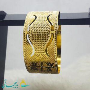 النگو طلایی- تک پوش - تک دست - کد ۱230