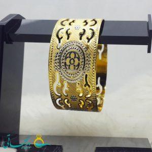 النگو طلایی- تک پوش - تک دست - کد ۱231