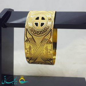 النگو طلایی- تک پوش - تک دست - کد ۱234
