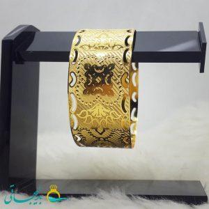 النگو طلایی- تک پوش - تک دست - کد ۱235