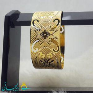 النگو طلایی- تک پوش - تک دست - کد ۱236
