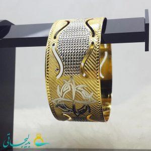 النگو طلایی- تک پوش - تک دست - کد ۱238