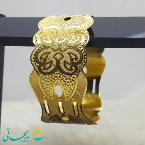 النگو طلایی- تک پوش - تک دست - کد ۱242