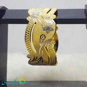 النگو طلایی- تک پوش - تک دست - کد ۱243