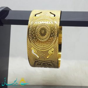 النگو طلایی- تک پوش - تک دست - کد ۱244