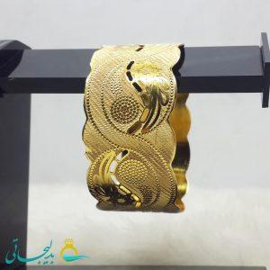 النگو طلایی- تک پوش - تک دست - کد ۱245