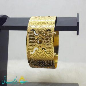 النگو طلایی- تک پوش - تک دست - کد ۱246