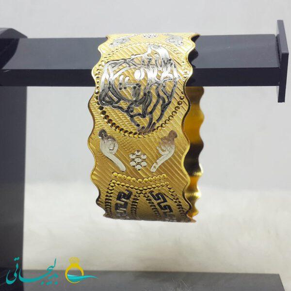 النگو طلایی- تک پوش - تک دست - کد ۱247