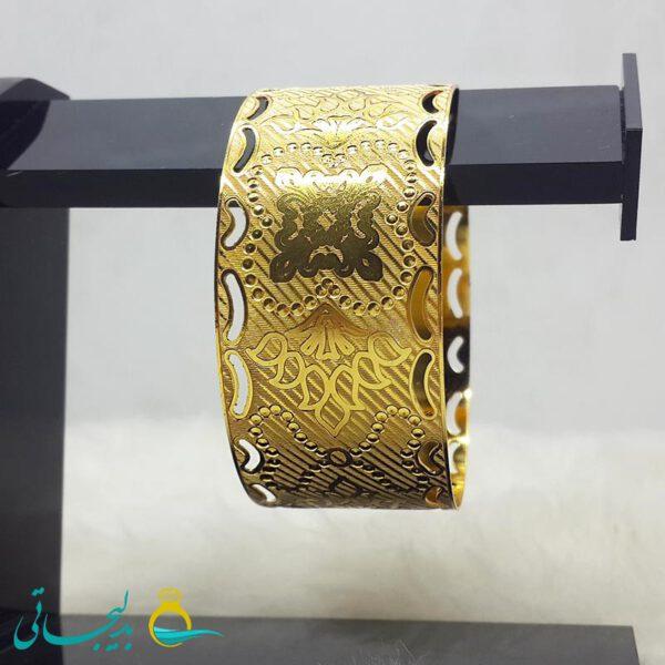 النگو طلایی- تک پوش - تک دست - کد ۱248