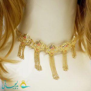 گردنبند-گردن آویز طلایی-طرح طلا