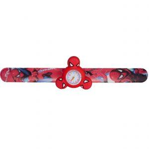 ساعت مچی بچگانه-طرح شخصیت های کارتنی-مرد عنکبوتی(قرمز)