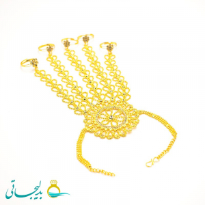 دستبند انگشتری - دستبند انگشتری هندی BGR-68