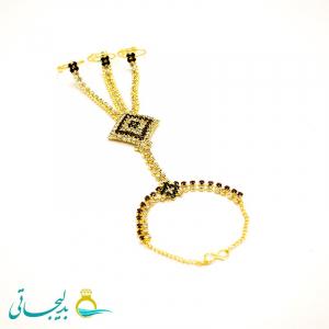 دستبند انگشتری - دستبند انگشتری هندی BGR-69