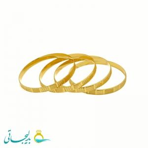 النگو طلایی - کد 1214