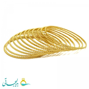 النگو طلایی - کد 1218