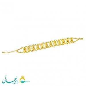 دستبند زنانه طرح طلا-نقش کارشده -مدل 111