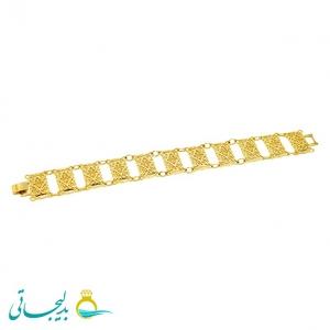 دستبند زنانه طرح طلا-نقش کارشده -مدل 116