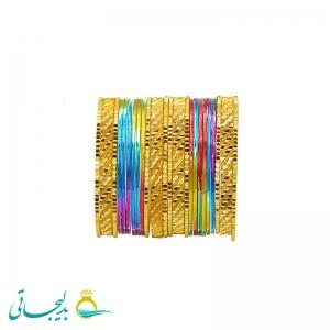 النگو هندی رنگی - Y102
