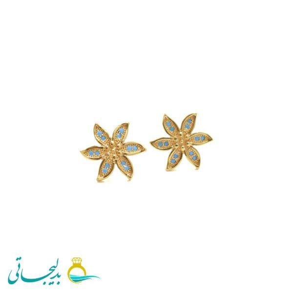گل گوش زنانه- طلایی