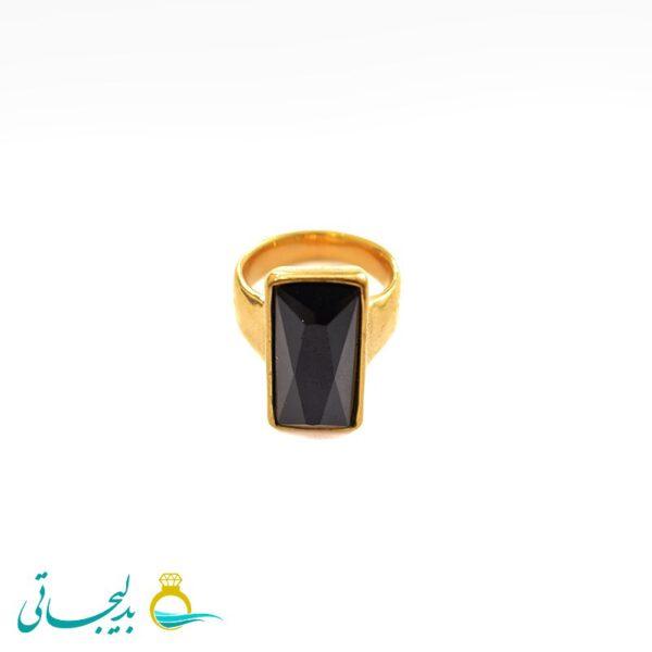 انگشتر مردانه نگین دار- کد 5012