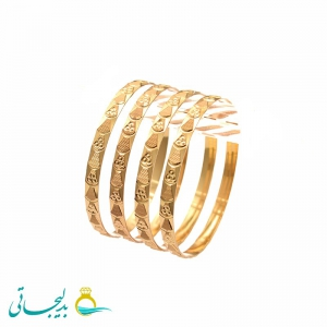 النگو طلایی زنانه- کد 6365