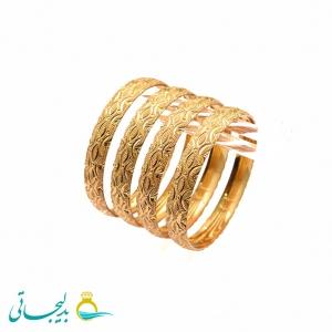 النگو طلایی زنانه- کد 6366