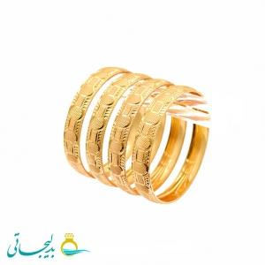 النگو طلایی زنانه- کد 6367